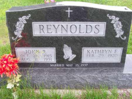 REYNOLDS, JOHN R. - Brown County, Nebraska | JOHN R. REYNOLDS - Nebraska Gravestone Photos