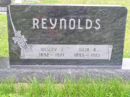 REYNOLDS, JULIA R. - Brown County, Nebraska | JULIA R. REYNOLDS - Nebraska Gravestone Photos