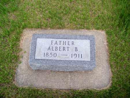 RICHARDSON, ALBERT B. - Brown County, Nebraska   ALBERT B. RICHARDSON - Nebraska Gravestone Photos