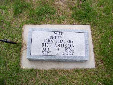 RICHARDSON, BETTY J. - Brown County, Nebraska | BETTY J. RICHARDSON - Nebraska Gravestone Photos