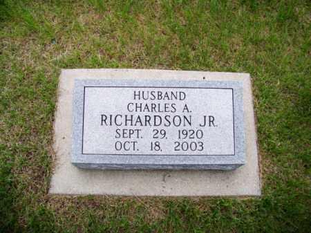 RICHARDSON, CHARLES A. JR. - Brown County, Nebraska | CHARLES A. JR. RICHARDSON - Nebraska Gravestone Photos