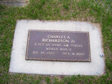 RICHARDSON, CHARLES A. - Brown County, Nebraska | CHARLES A. RICHARDSON - Nebraska Gravestone Photos