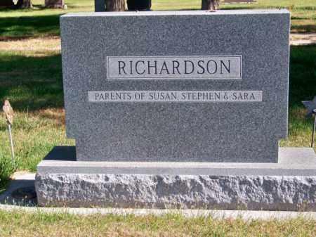 RICHARDSON, FAMILY - Brown County, Nebraska | FAMILY RICHARDSON - Nebraska Gravestone Photos
