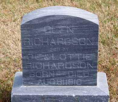 RICHARDSON, GLEN - Brown County, Nebraska   GLEN RICHARDSON - Nebraska Gravestone Photos