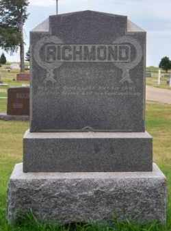 RICHMOND, FAMILY - Brown County, Nebraska | FAMILY RICHMOND - Nebraska Gravestone Photos