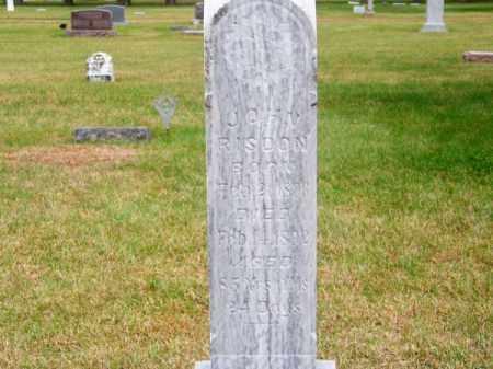 RISDON, JOHN - Brown County, Nebraska   JOHN RISDON - Nebraska Gravestone Photos