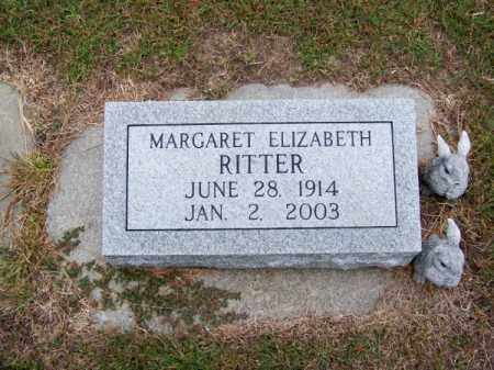RITTER, MARGARET ELIZABETH - Brown County, Nebraska   MARGARET ELIZABETH RITTER - Nebraska Gravestone Photos