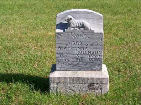 ROBINSON, CLARA - Brown County, Nebraska   CLARA ROBINSON - Nebraska Gravestone Photos