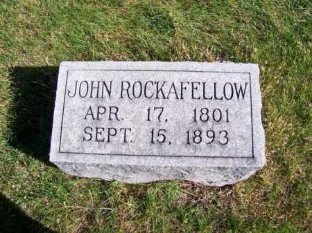 ROCKAFELLOW, JOHN - Brown County, Nebraska | JOHN ROCKAFELLOW - Nebraska Gravestone Photos