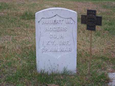 ROGERS, HUBERT M. - Brown County, Nebraska | HUBERT M. ROGERS - Nebraska Gravestone Photos