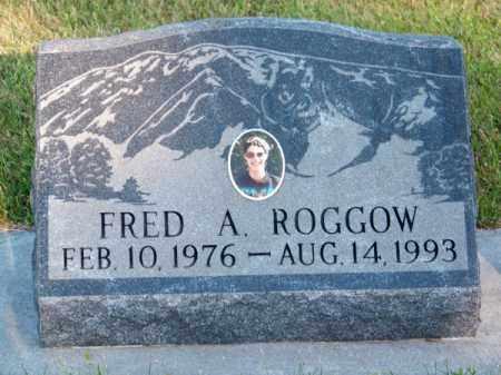 ROGGOW, FRED A. - Brown County, Nebraska | FRED A. ROGGOW - Nebraska Gravestone Photos