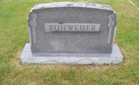 ROHWEDER, FAMILY - Brown County, Nebraska | FAMILY ROHWEDER - Nebraska Gravestone Photos