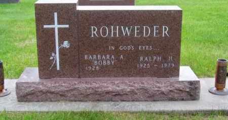 ROHWEDER, RALPH M. - Brown County, Nebraska | RALPH M. ROHWEDER - Nebraska Gravestone Photos