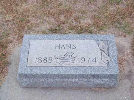 ROHWER, HANS - Brown County, Nebraska   HANS ROHWER - Nebraska Gravestone Photos