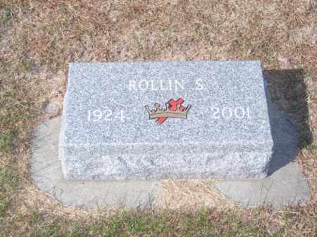 ROHWER, ROLLIN S. - Brown County, Nebraska   ROLLIN S. ROHWER - Nebraska Gravestone Photos