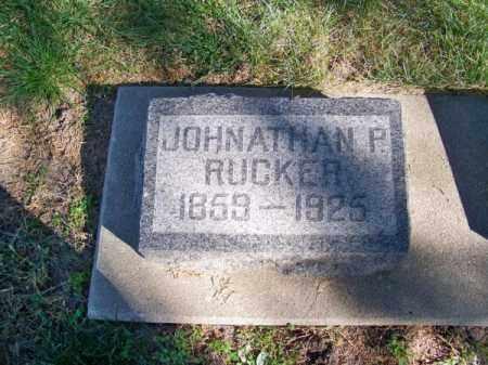 RUCKER, JOHNATHAN P. - Brown County, Nebraska | JOHNATHAN P. RUCKER - Nebraska Gravestone Photos