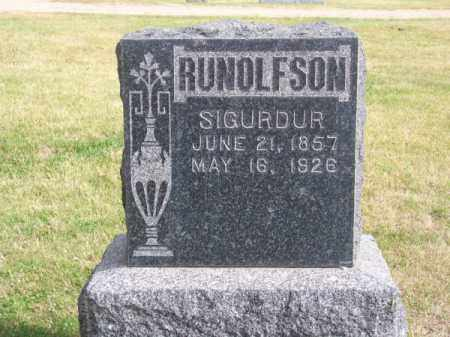 RUNOLFSON, SIGURDUR - Brown County, Nebraska   SIGURDUR RUNOLFSON - Nebraska Gravestone Photos