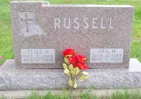 RUSSELL, ORA M. - Brown County, Nebraska   ORA M. RUSSELL - Nebraska Gravestone Photos
