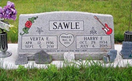 BARTLETT SAWLE, VERTA E. - Brown County, Nebraska | VERTA E. BARTLETT SAWLE - Nebraska Gravestone Photos