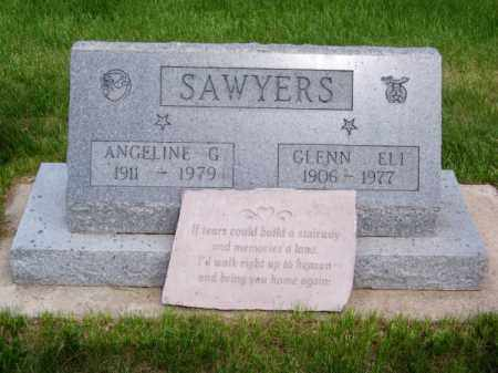 SAWYERS, GLENN ELI - Brown County, Nebraska | GLENN ELI SAWYERS - Nebraska Gravestone Photos