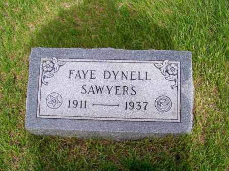 SAWYERS, FAYE - Brown County, Nebraska | FAYE SAWYERS - Nebraska Gravestone Photos