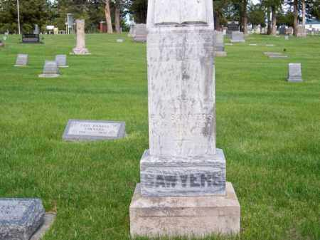 SAWYERS, MARY - Brown County, Nebraska | MARY SAWYERS - Nebraska Gravestone Photos