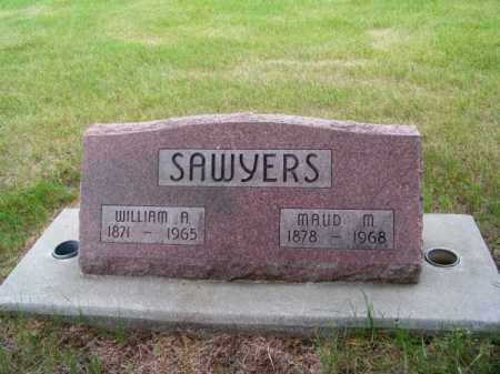 SAWYERS, MAUD M. - Brown County, Nebraska | MAUD M. SAWYERS - Nebraska Gravestone Photos