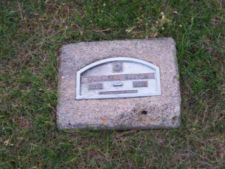 SAXTON, WALLACE T. - Brown County, Nebraska   WALLACE T. SAXTON - Nebraska Gravestone Photos