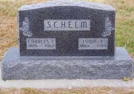SCHELM, CHARLES F. - Brown County, Nebraska | CHARLES F. SCHELM - Nebraska Gravestone Photos