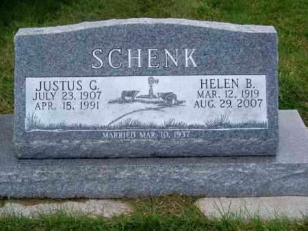 SCHENK, JUSTUS G. - Brown County, Nebraska | JUSTUS G. SCHENK - Nebraska Gravestone Photos