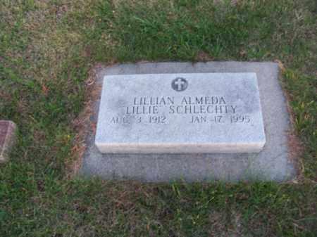 "SCHLECHTY, LILLIAN ALMEDA ""LILLIE"" - Brown County, Nebraska | LILLIAN ALMEDA ""LILLIE"" SCHLECHTY - Nebraska Gravestone Photos"