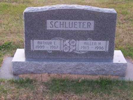 SCHLUETER, AILEEN H. - Brown County, Nebraska   AILEEN H. SCHLUETER - Nebraska Gravestone Photos