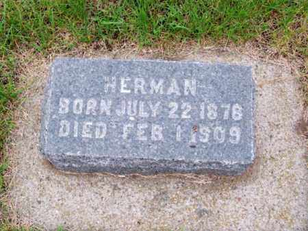 SCHLUETER, HERMAN - Brown County, Nebraska | HERMAN SCHLUETER - Nebraska Gravestone Photos