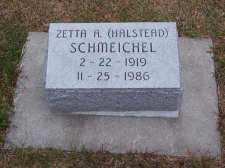 SCHMEICHEL, ZETTA A. - Brown County, Nebraska | ZETTA A. SCHMEICHEL - Nebraska Gravestone Photos