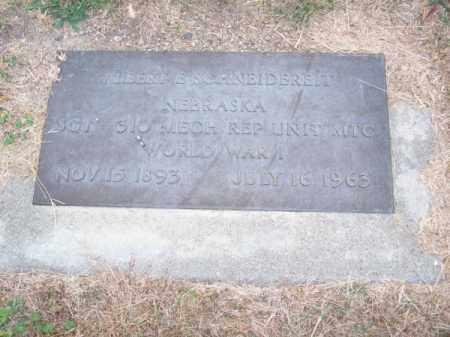 SCHNEIDEREIT, ALBERT E. - Brown County, Nebraska | ALBERT E. SCHNEIDEREIT - Nebraska Gravestone Photos