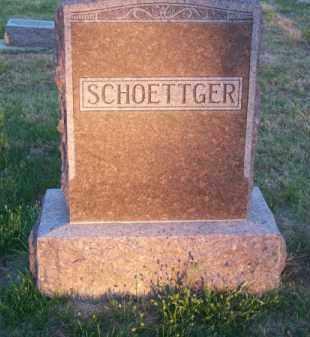 SCHOETTGER, FAMILY - Brown County, Nebraska | FAMILY SCHOETTGER - Nebraska Gravestone Photos
