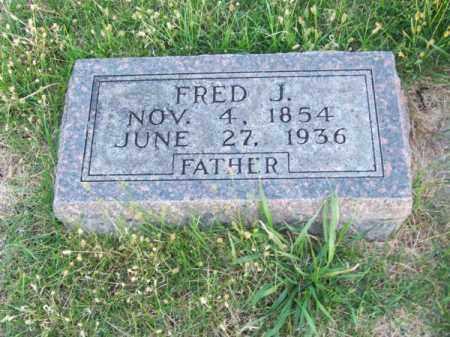 SCHOETTGER, FRED J. - Brown County, Nebraska | FRED J. SCHOETTGER - Nebraska Gravestone Photos