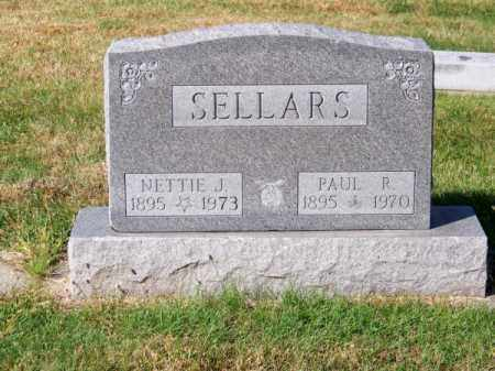 SELLARS, NETTIE J. - Brown County, Nebraska | NETTIE J. SELLARS - Nebraska Gravestone Photos