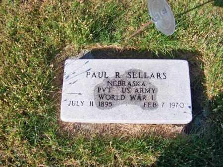 SELLARS, PAUL R. - Brown County, Nebraska | PAUL R. SELLARS - Nebraska Gravestone Photos