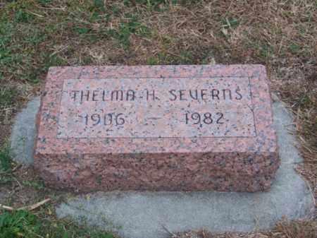SEVERNS, THELMA H. - Brown County, Nebraska | THELMA H. SEVERNS - Nebraska Gravestone Photos