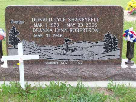 SHANEYFELT, DONALD LYLE - Brown County, Nebraska   DONALD LYLE SHANEYFELT - Nebraska Gravestone Photos