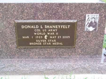 SHANEYFELT, DONALD L. - Brown County, Nebraska | DONALD L. SHANEYFELT - Nebraska Gravestone Photos