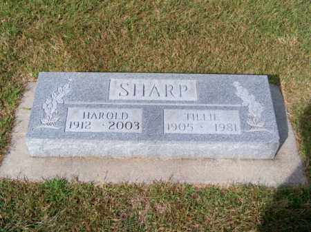 SHARP, HAROLD - Brown County, Nebraska | HAROLD SHARP - Nebraska Gravestone Photos