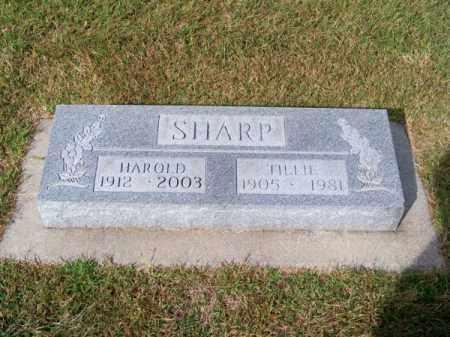 SHARP, TILLIE - Brown County, Nebraska | TILLIE SHARP - Nebraska Gravestone Photos