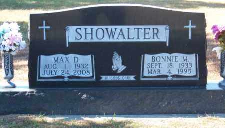 SHOWALTER, MAX D. - Brown County, Nebraska | MAX D. SHOWALTER - Nebraska Gravestone Photos