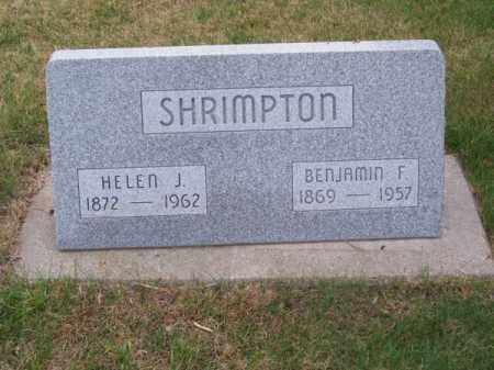 SHRIMPTON, HELEN J. - Brown County, Nebraska | HELEN J. SHRIMPTON - Nebraska Gravestone Photos