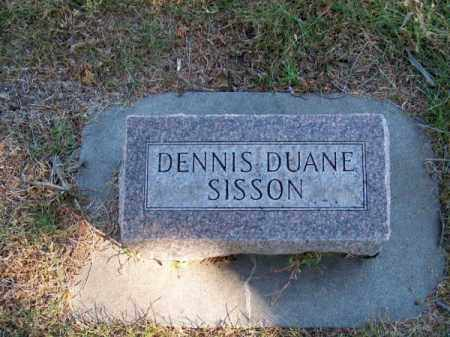 SISSON, DENNIS DUANE - Brown County, Nebraska | DENNIS DUANE SISSON - Nebraska Gravestone Photos