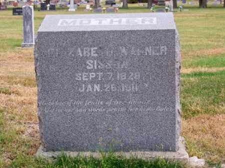 SISSON, ELIZABETH - Brown County, Nebraska | ELIZABETH SISSON - Nebraska Gravestone Photos