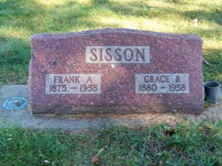 SISSON, FRANK A. - Brown County, Nebraska   FRANK A. SISSON - Nebraska Gravestone Photos
