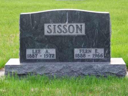 SISSON, LEE A. - Brown County, Nebraska   LEE A. SISSON - Nebraska Gravestone Photos